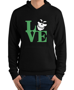 Green Legion LOVE Unisex Hoodie Sweatshirt