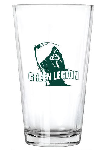 Green Legion Pint Glass