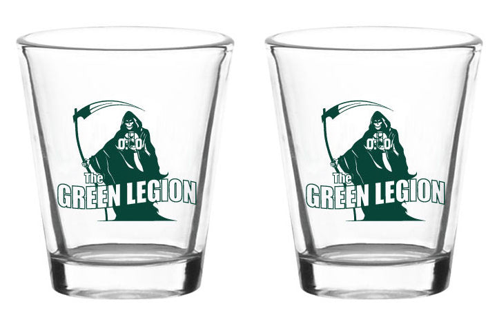 Green Legion Shot Glass Set (2)