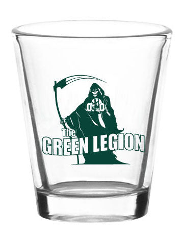 Green Legion Shot Glass