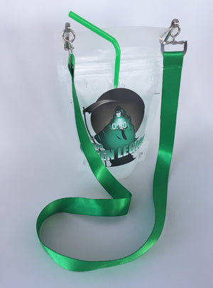 Green Legion Tailgate Hands-Free Drink Pouch