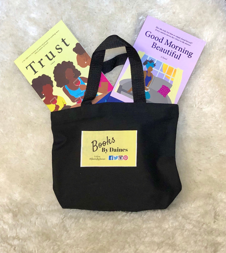 Book Bundle- Trust and Good Morning Beautiful w/ Mini Canvas Tote Bag