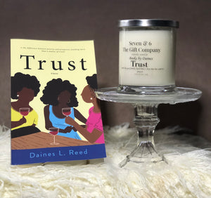 Trust Novel and Candle Gift Set