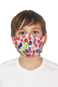 Reversible Adjustable Face Mask 100% Cotton & Cotton Canvas
