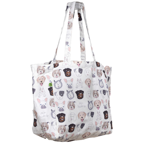 HOMIES KEEP 'EM SEPARATED CANVAS TOTE BAG
