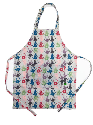 Hands Print Adult Apron