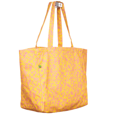 LOTUS KEEP 'EM SEPARATED CANVAS TOTE BAG