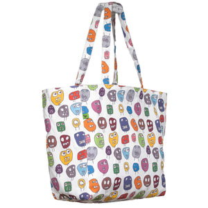 MONSTERS KEEP 'EM SEPARATED CANVAS TOTE BAG