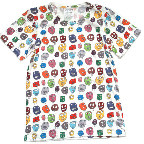 MONSTER ALL-OVER PRINT ADULT TEE