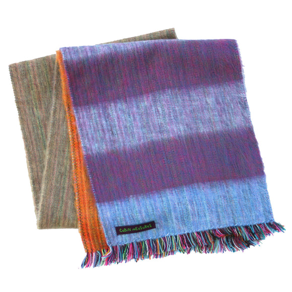 PURPLE HAZE ALPACA SCARF