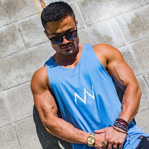 Void Tank - Blue - Envywear Apparel