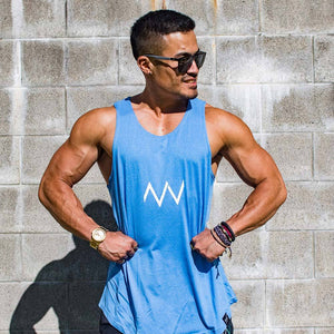 Void Tank - Blue - Small - Envywear Apparel