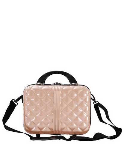 Small pink luggage, for Untangled