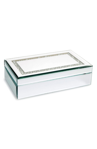 White jewelry box, for Untangled