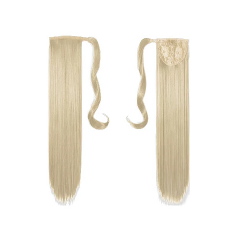 Halo and Ponytail Hair Extensions, for Untangled