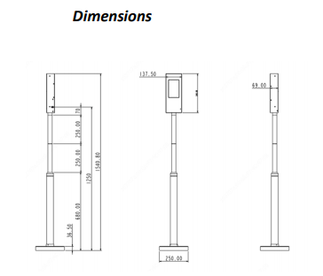 Temperature Measurement Pole SYSTEM