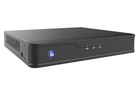 4 or Channels POE, 4K NVR