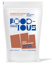 Foodious Meal Replacement Powder Chocolate Flavour Package