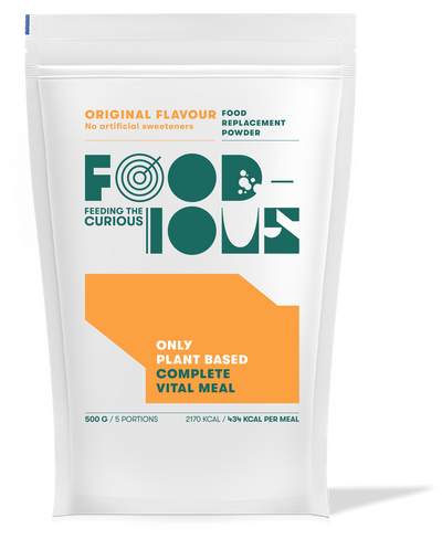 Foodious Meal Replacement Powder Original Flavour Package