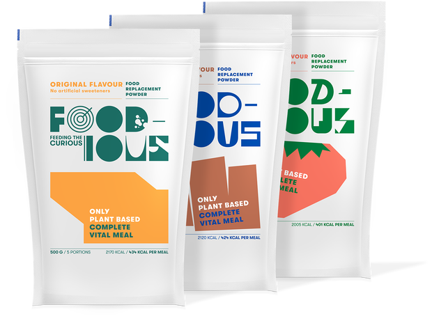 Foodious Meal Replacement Powder Test Pack