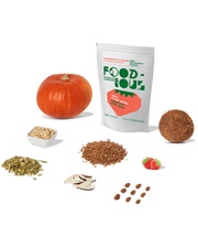 Foodious meal replacement ingredients Strawberry flavour