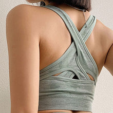Load image into Gallery viewer, Yoga Divine Seamless Camo Sports Bra