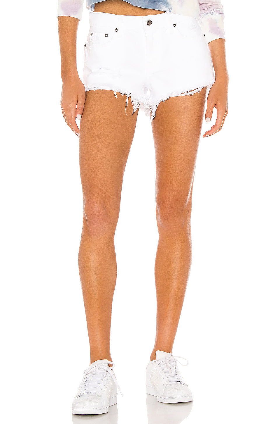 GIGI LOW RISE CUT OFF- POLARIZE