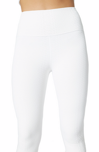 GRIFFITH 7/8 CORE LEGGING - OFF WHITE