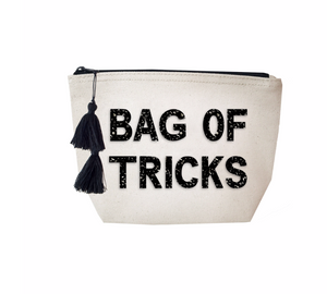 BAG OF TRICKS - COSMETIC BAG