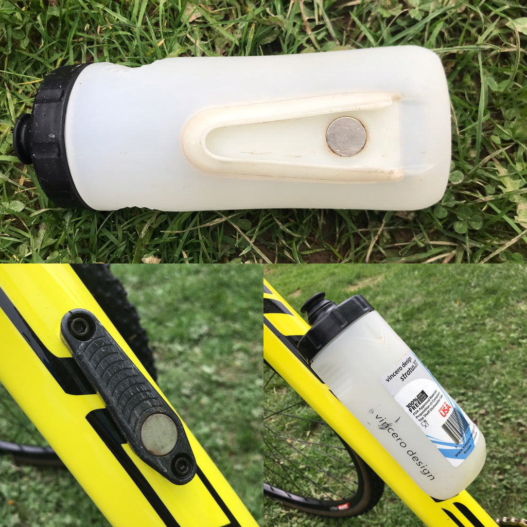 Cage-less bottle is awesome for cross