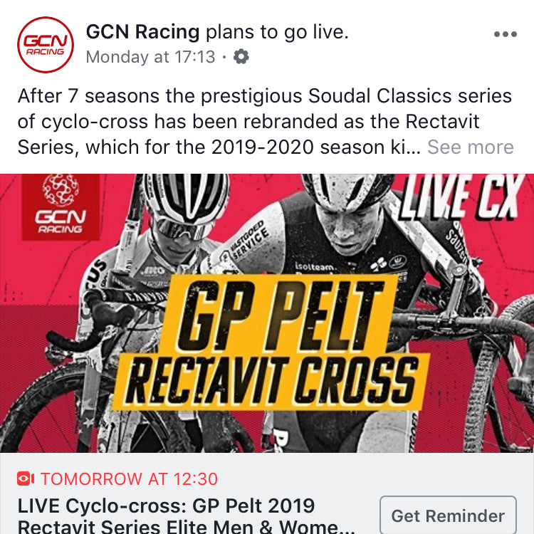 GCN Cyclo-cross coverage