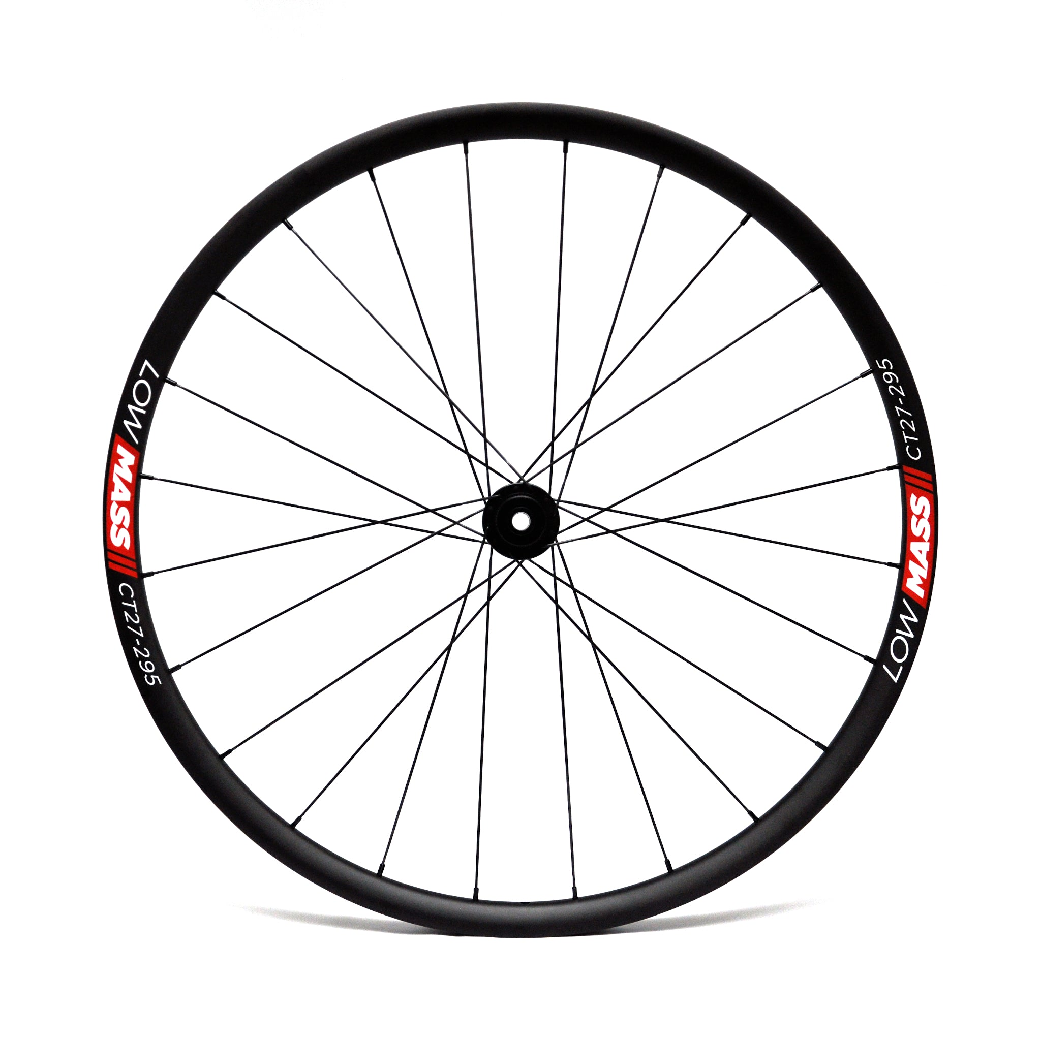 LOWMASS Carbon Tubular Cyclo Cross Disc Wheelset (650B)
