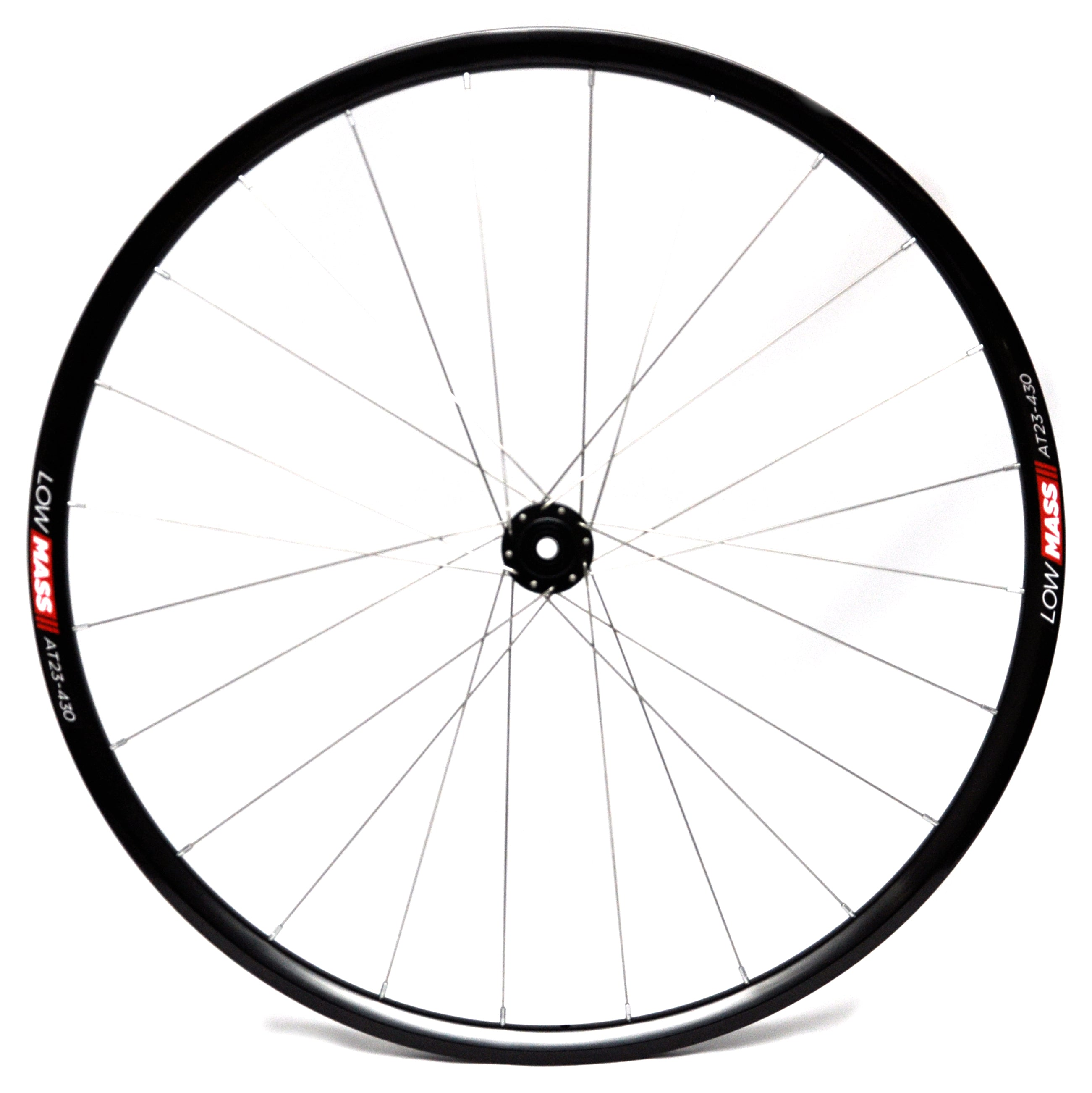 LOWMASS Aluminium Tubular Cyclo Cross Disc Wheelset