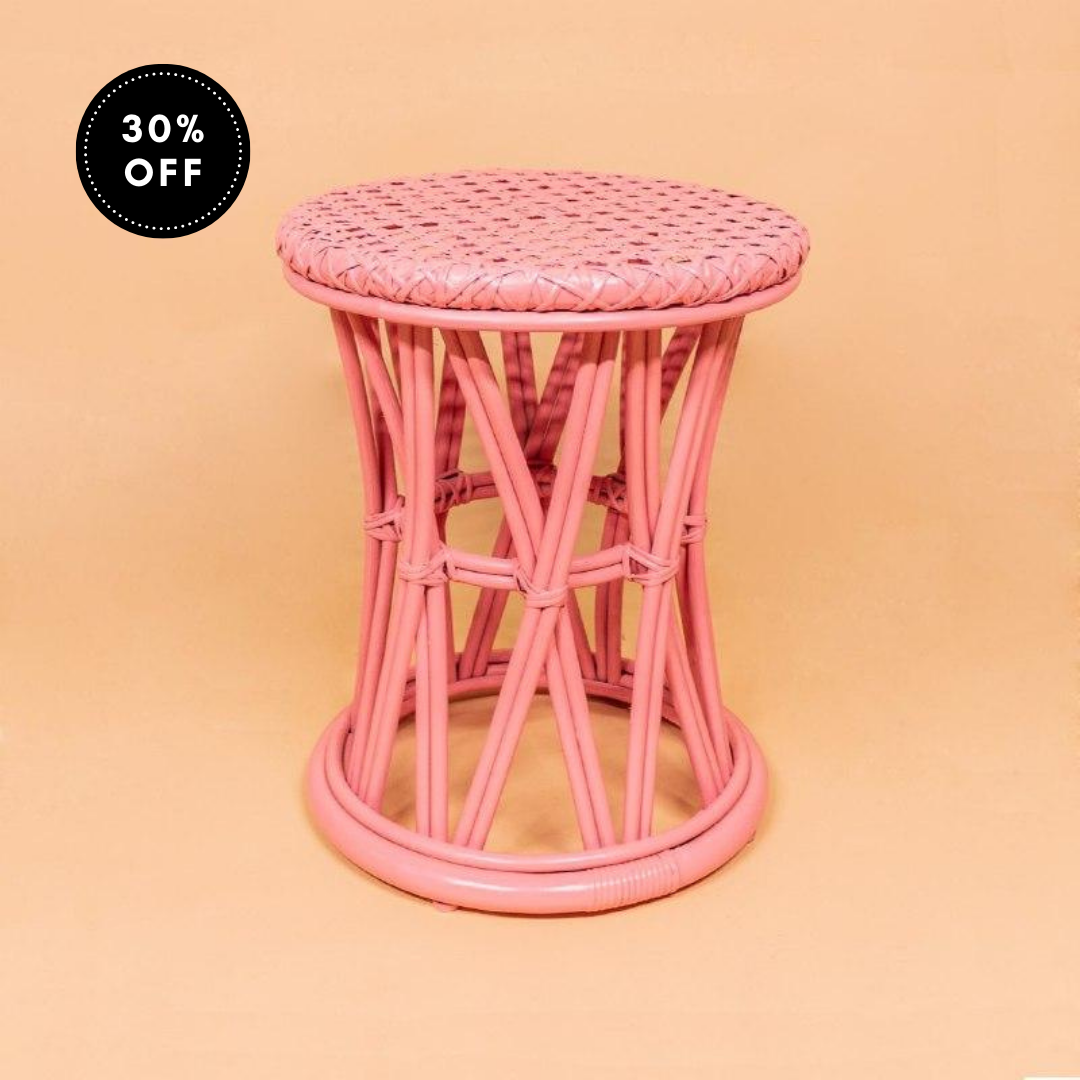 Arya Stool - Pink (Seconds)