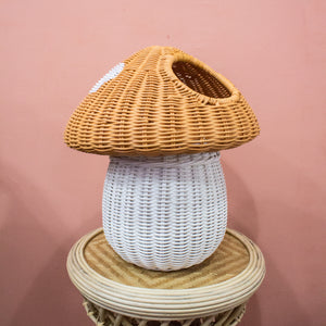 (As-Is) Toadstool Basket B - Autumn
