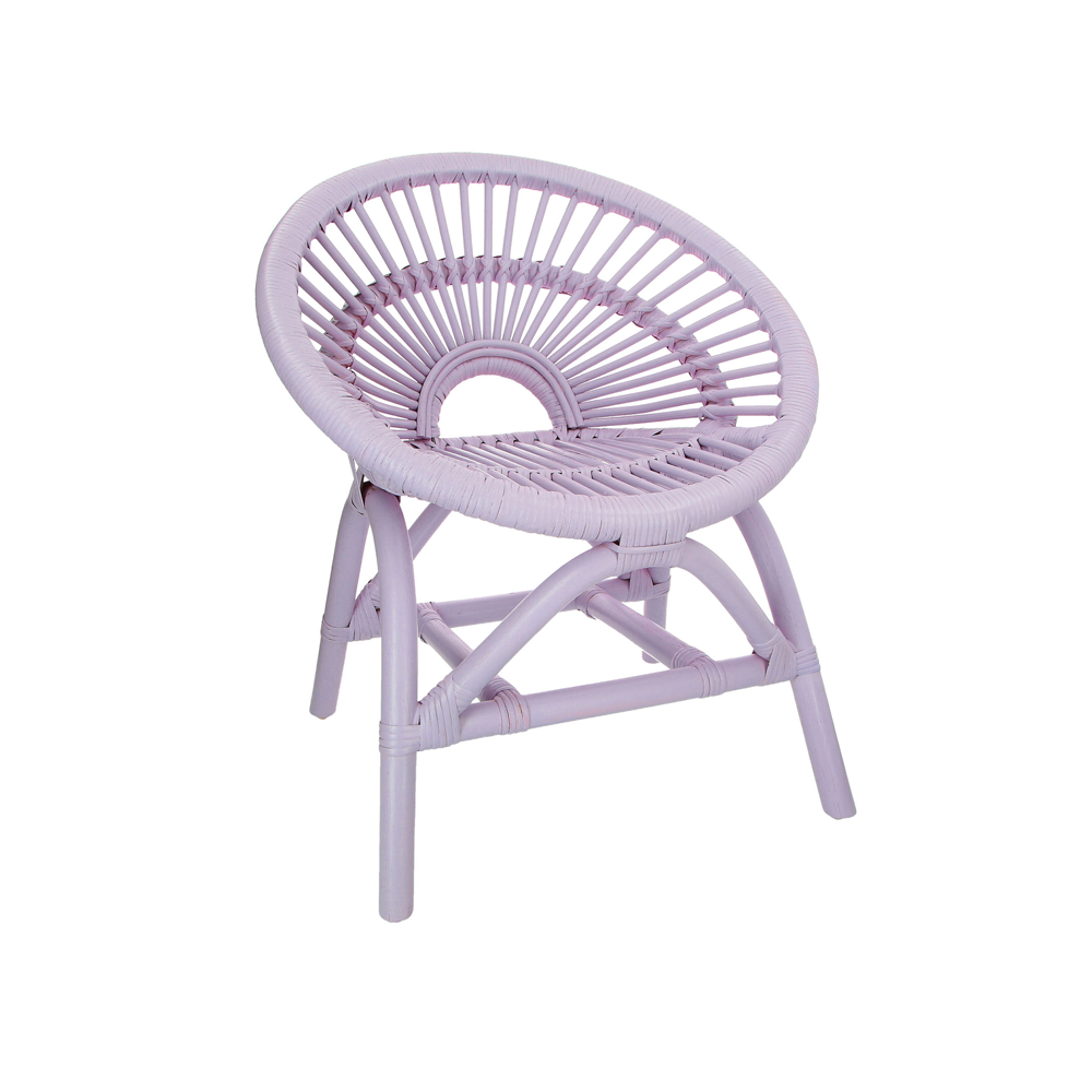 Maya Chair - Lilac (Arriving 24th August)