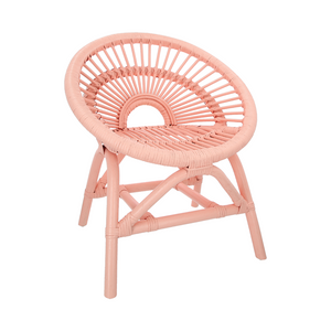 Rattan Chair Maya Chair Peach Pink