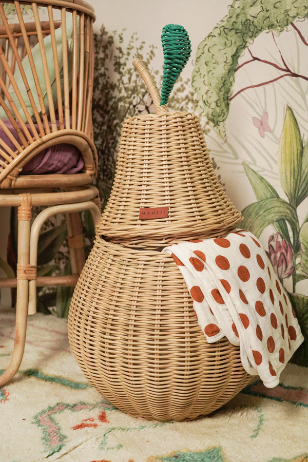 Pear Storage Basket - Natural [Delivery end April/early May 2021]