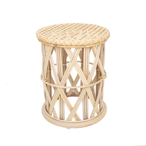 Rattan Bedside Table Poppy Stool