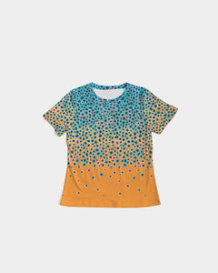 Trout Print Pattern Women's Tee