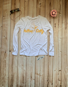 Yellow Sally V Neck Fishing Shirt