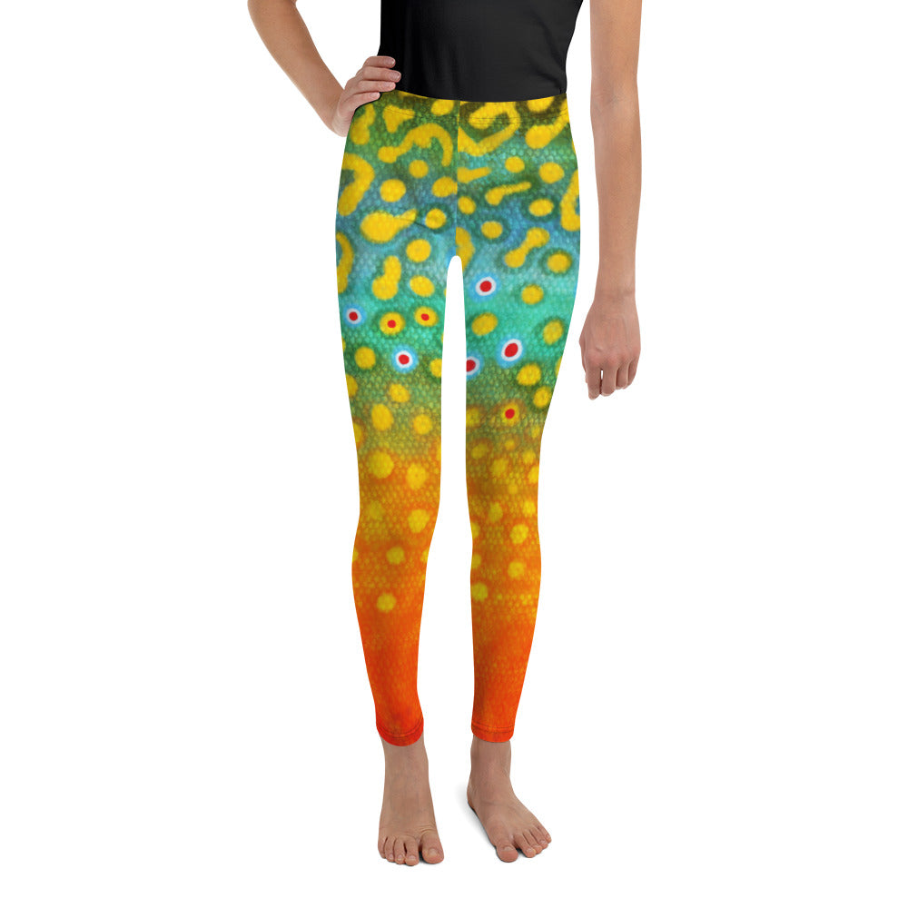 Brook Trout Leggings (size 8- 20)