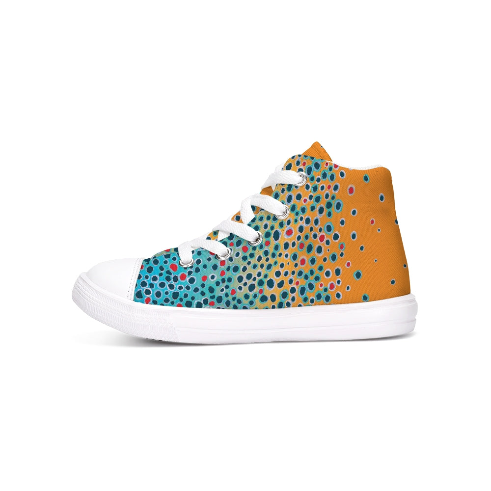Girl's Brown Trout Hightop Shoe