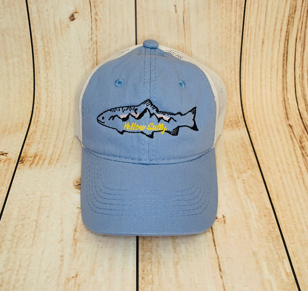 Yellow Sally Trout Youth Hat