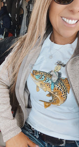 Lady Trout Wrangler Classic Tee