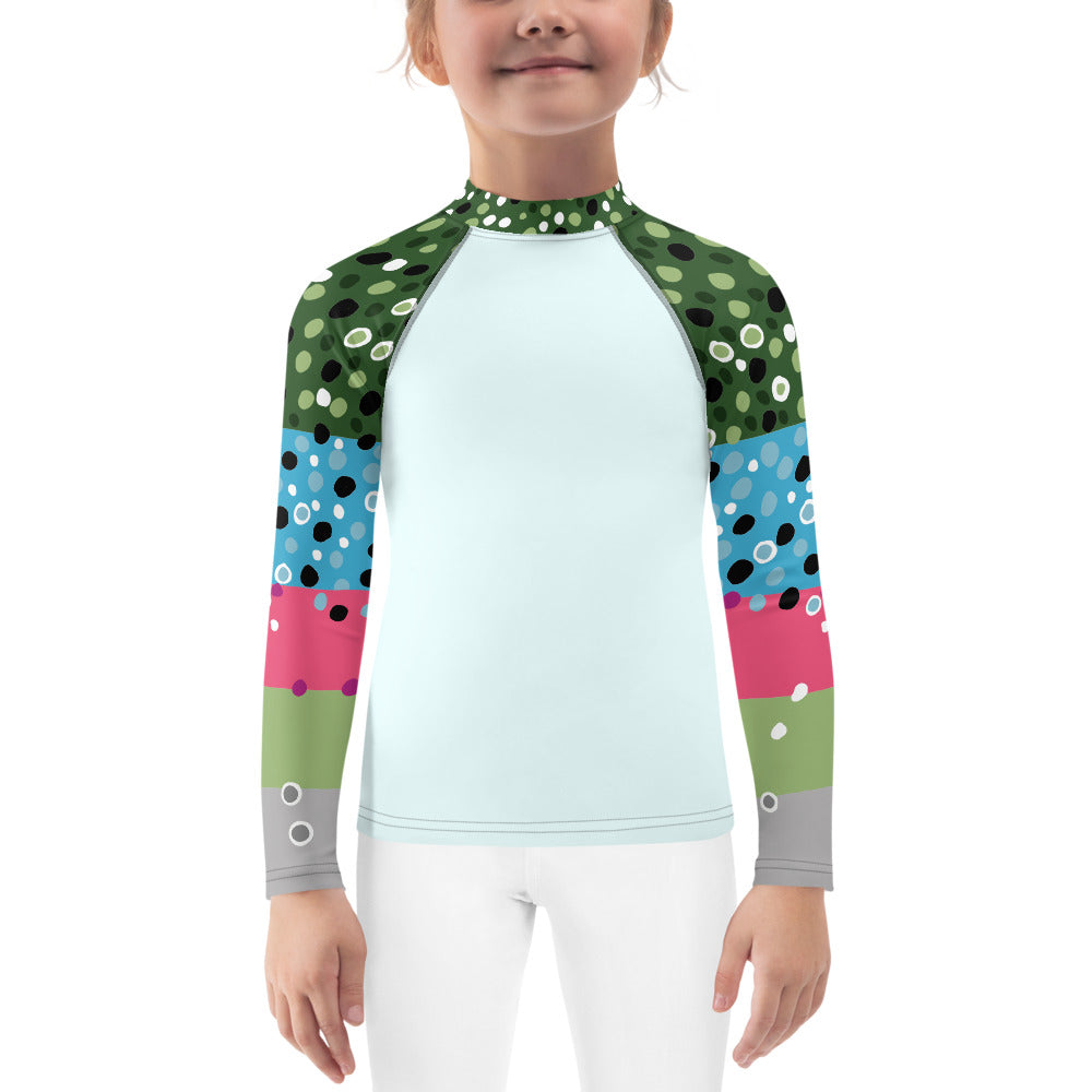 Girl's Rainbow Trout Fishing Shirt (2T-7)