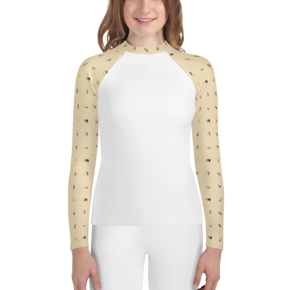 Youth She's So Fly Fishing Shirt (Size 8-20)