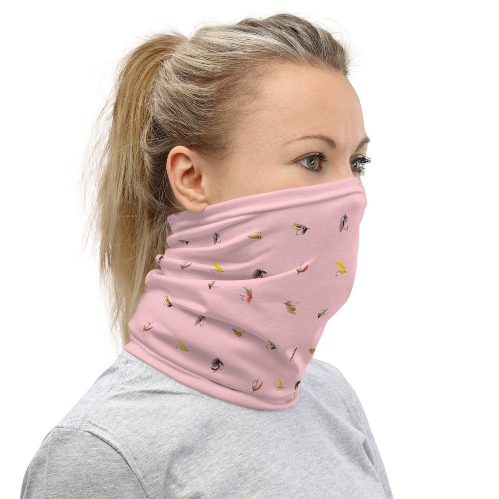 She's So Fly Pink Neck gaiter