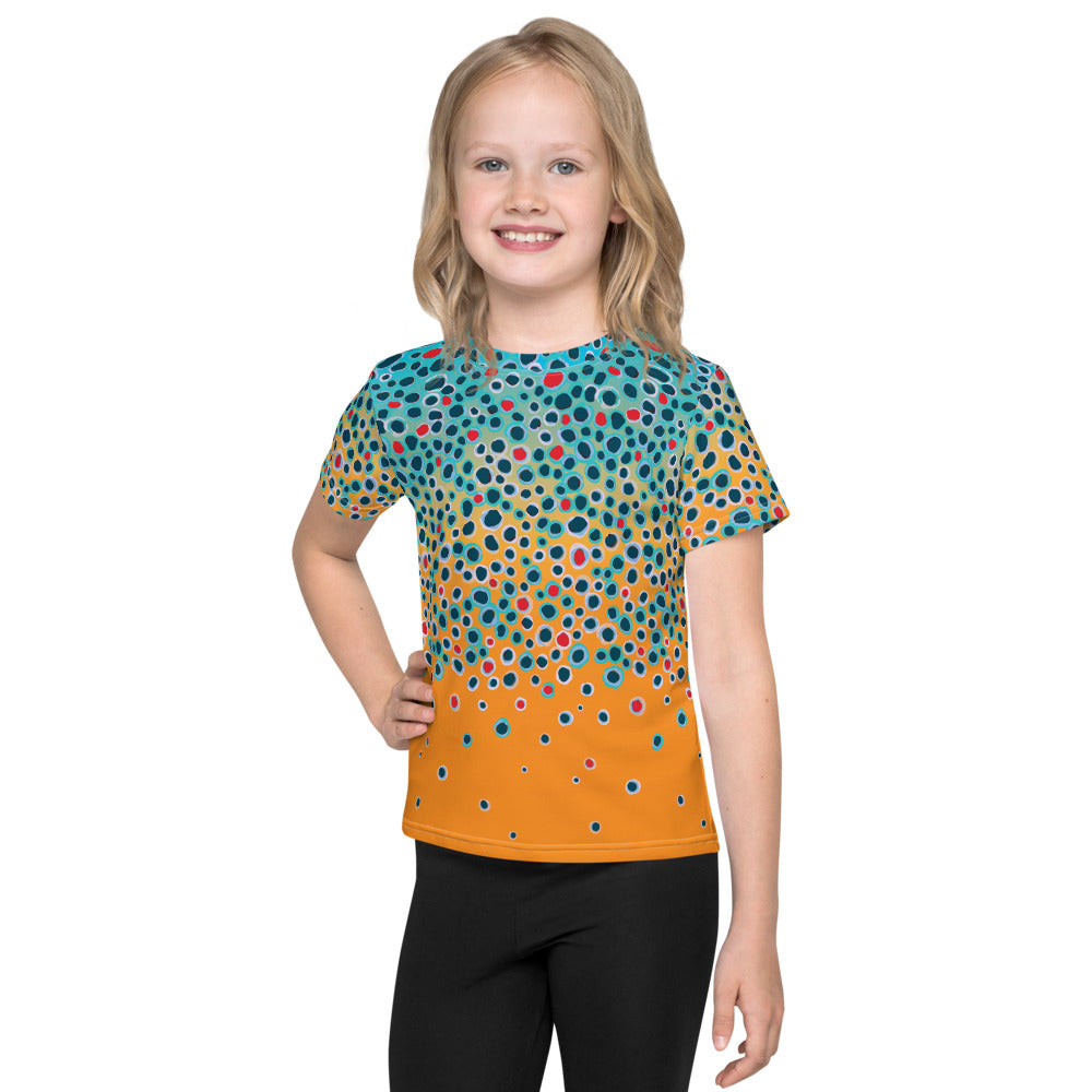 Girl's Trout Print T