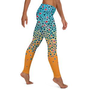 Trout Print Leggings